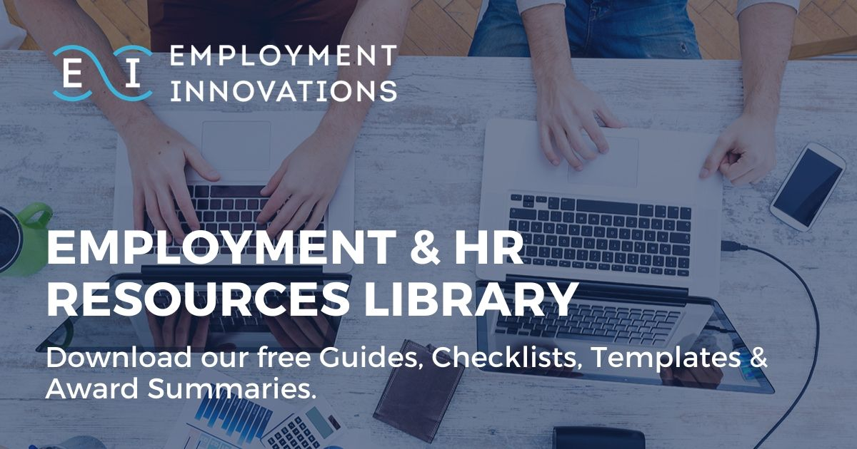 Employment Innovations' HR Resources Library - Download free guides, checklists, templates & award summaries