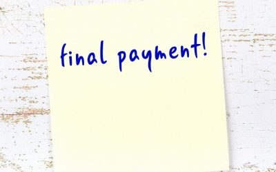Changes to the final/termination payment clause in select awards