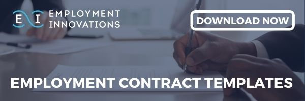 Download Employment Innovations' free Employment Contract template pack.