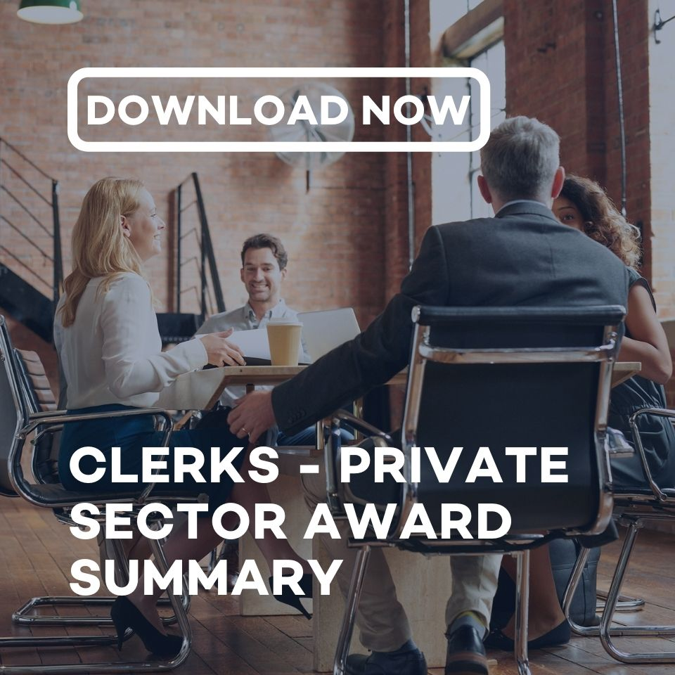 Download the Employment Innovations' Clerks - Private Sector Award Summary